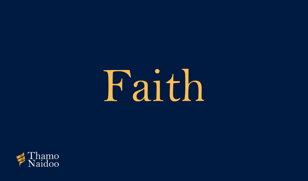 Faith-Banner