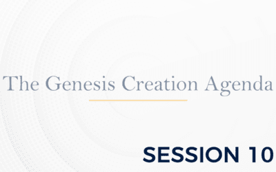 The Genesis: The Creation Agenda – Session 10