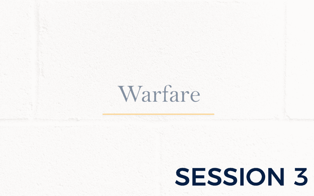 Warfare – Session 3
