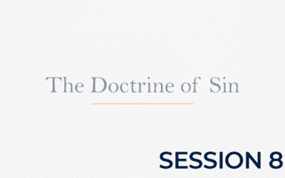 The Doctrine of Sin – Session 8