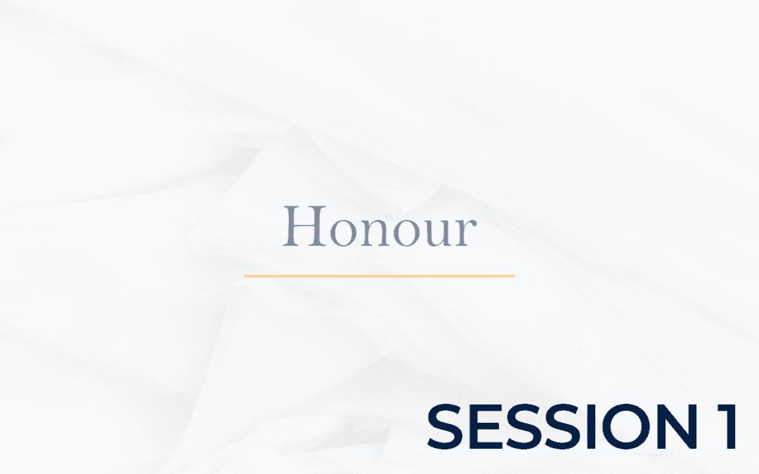 Honour Session 1