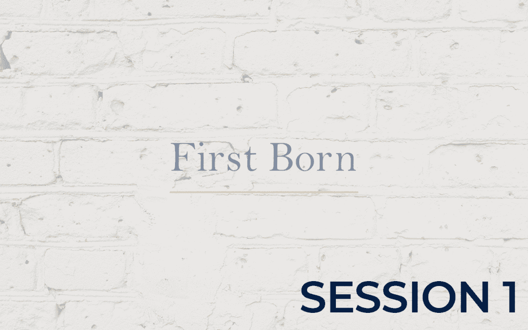 First Born - Session 1