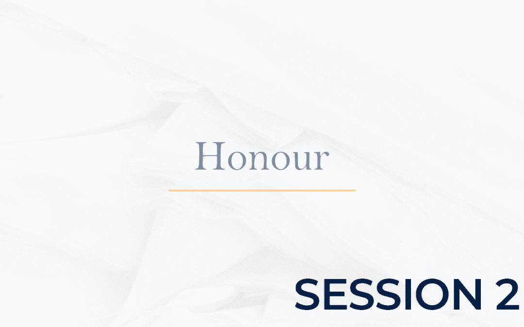 Honour Session 2