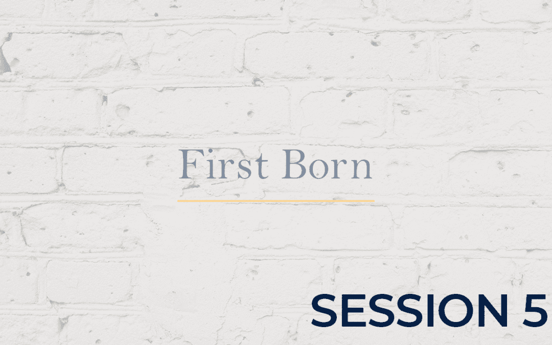 First Born - Session 5