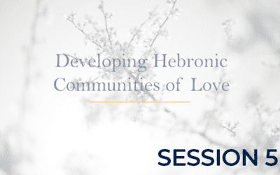 Developing Hebronic Communities of Love – Session 5