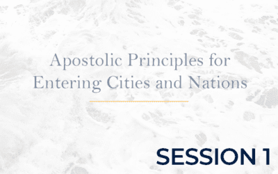 Apostolic Protocols for Entering Cities – Session 1