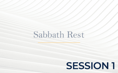 Sabbath Rest – Session 1