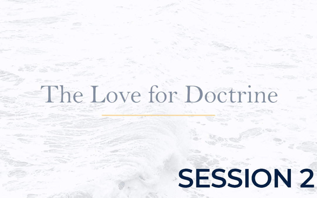The Love for Doctrine Session 2