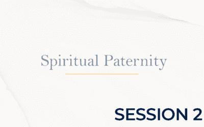 Spiritual Paternity – Session 2