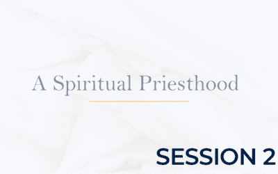 A Spiritual Priesthood – Session 2