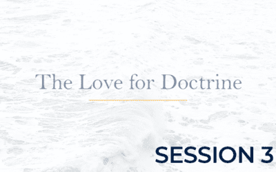 The Love for Doctrine – Session 3