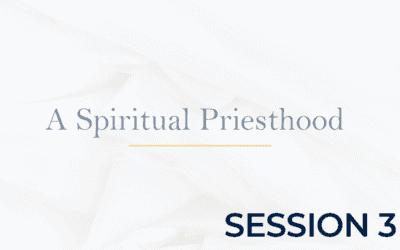 A Spiritual Priesthood – Session 3
