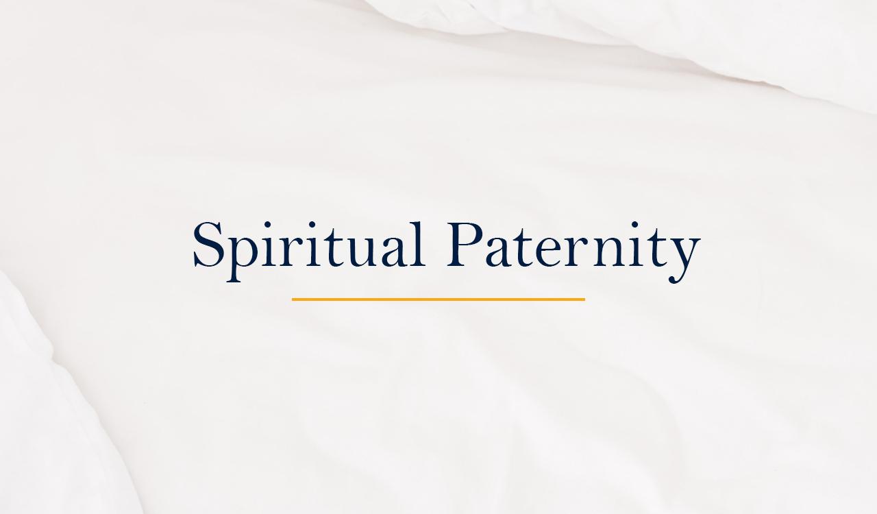 Spiritual Paternity