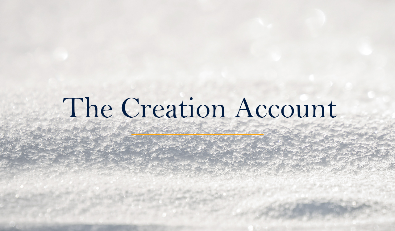 The Creation Account