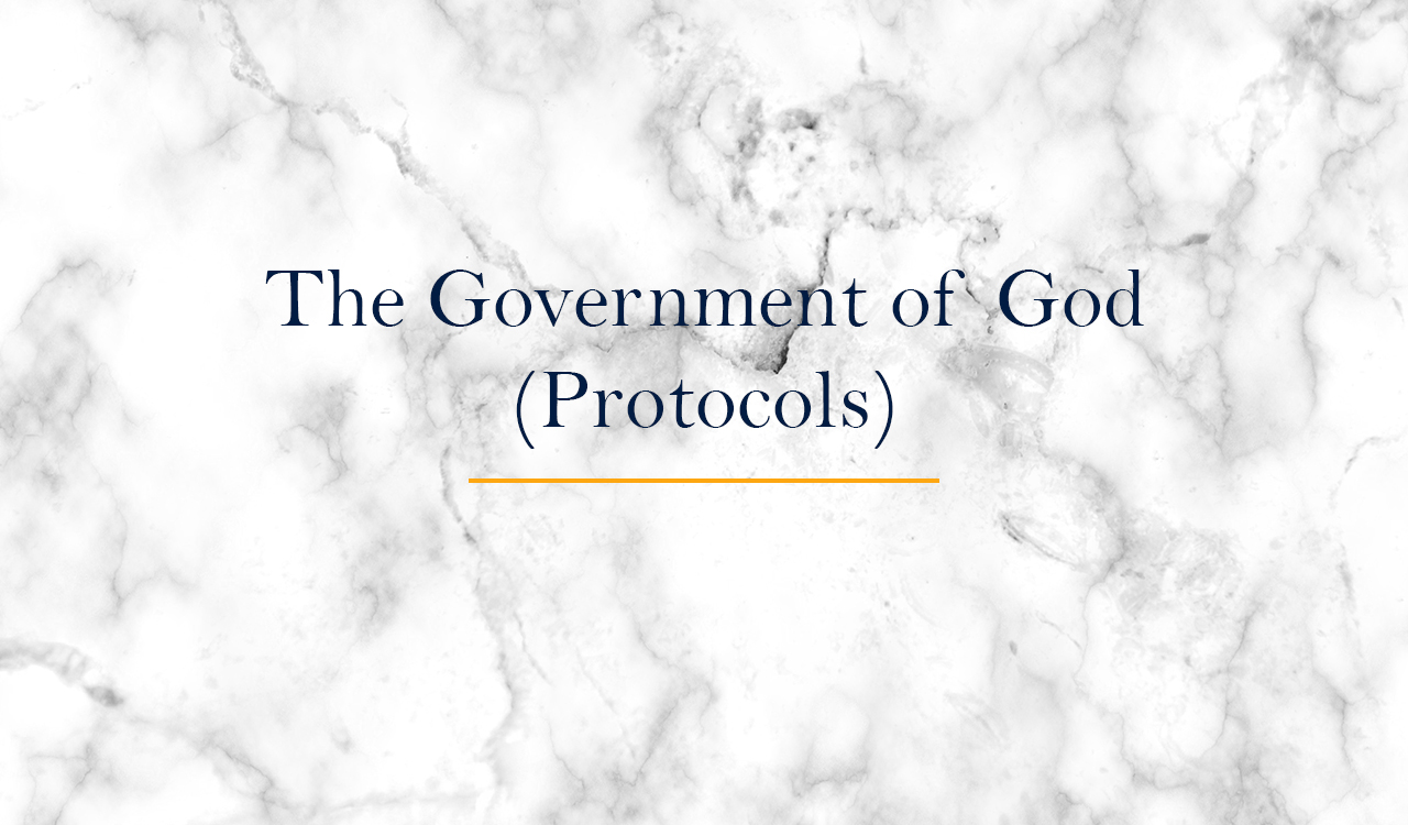 The Government of God (Protocols)