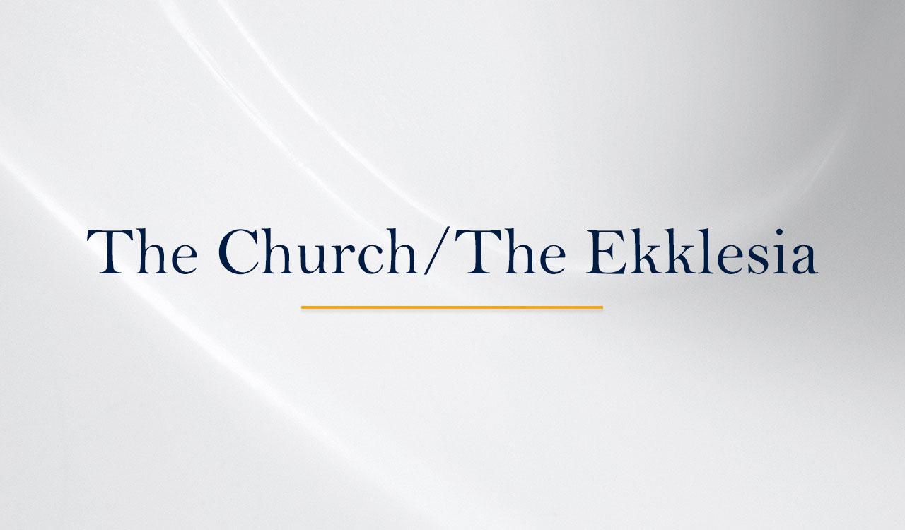 The-Church-The-Ekklesia