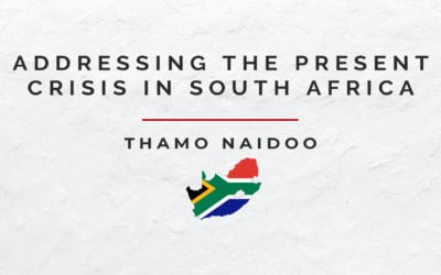 Addressing the Present Crisis in South Africa