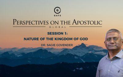 Dr Sagie Govender – Nature of the Kingdom of God – POA August 2021